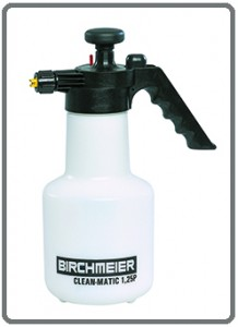 Spray-Matic 1.25 hand compression sprayer supplied by Tensid UK Ltd