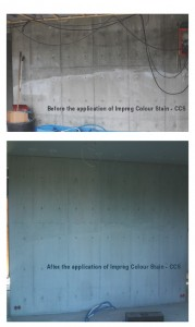 Using Impreg CCS - Concrete Colour Stain